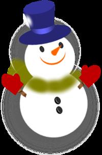 スノーマン(雪だるま)