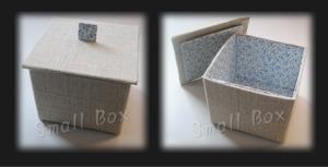 牛乳パックで作る小箱
