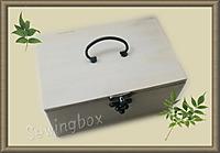 ハンドメイドのソーイングボックス