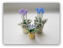 ドールハウス用植物/ラベンダー