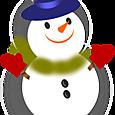 01 スノーマンとクリスマスイメージいろいろ