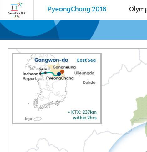 Pyeongchang2018_venues